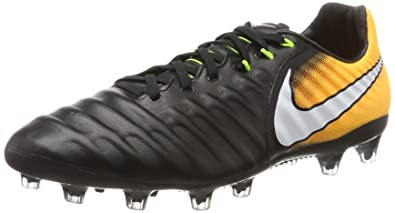 new style 3b226 aae7b Nike Tiempo Legacy III AG-Pro Chaussures de Football Homme, Noir (Black/