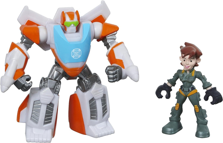 Playskool Heroes Transformateurs Rescue Bots Dani Burns de construction Bot