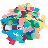 Hygloss Tissue Squares - 1 inch Squares - Pack of 2,500 Pieces - Assorted Colors 2 Pack