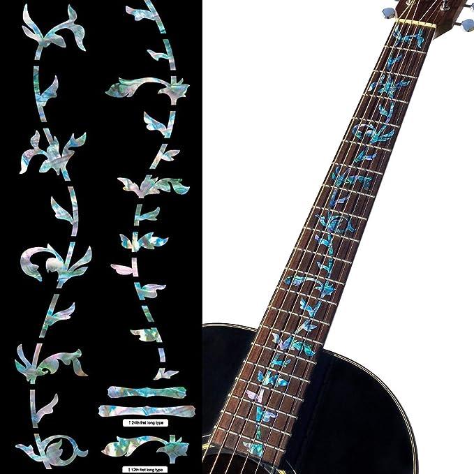 Inlay Sticker Fret Markers for Mandolins Fleur de Lys