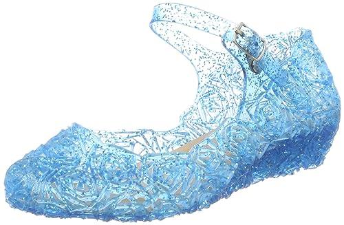 756474ea03dbad GenialES Prinzessin Gelee Partei Absatz-Schuhe Sandalen für Kinder Glanz  Prinzessin Weihnachten Verkleidung Karneval Party
