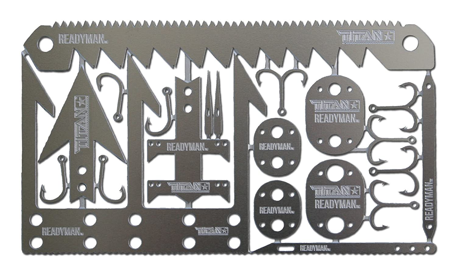 22-in-1 Credit Card Sized Emergency Tool