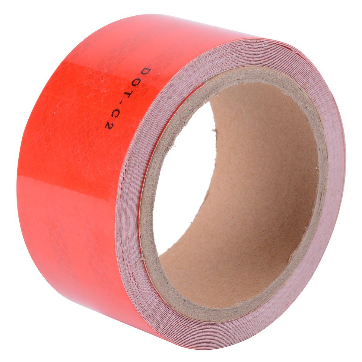 Diamond Grade Conspicuity Reflective Safety Tape DOT-C2 (Red)