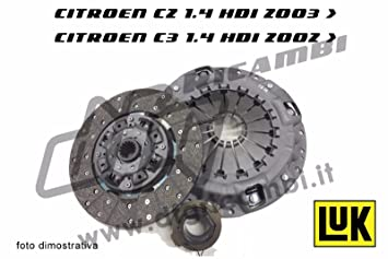 Kit de Embrague Citroen C2 – C3 1.4 HDI 2002 >