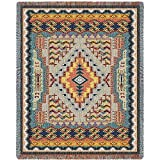 Pure Country Southwest Turquoise Blanket Tapestry Throw