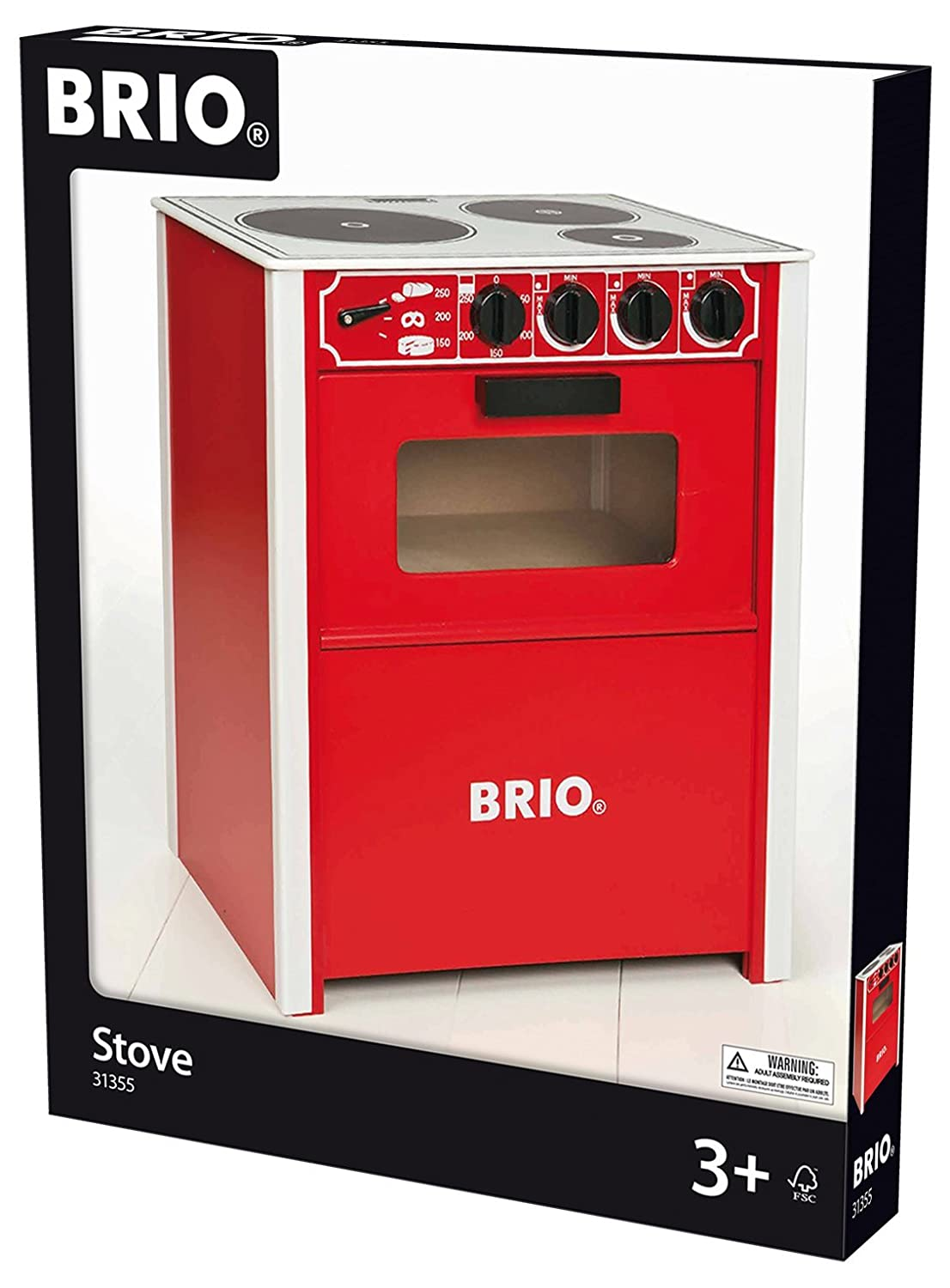 Amazon.com : BRIO Red Stove : Learning And Development Toys ...