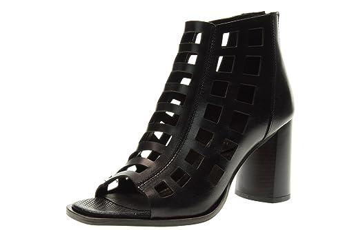 FABBRICA DEI COLLI Zapatos Botines de Las Mujeres apertii 1STAR110 Negro Talla 38 Negro 40Up19TbQD