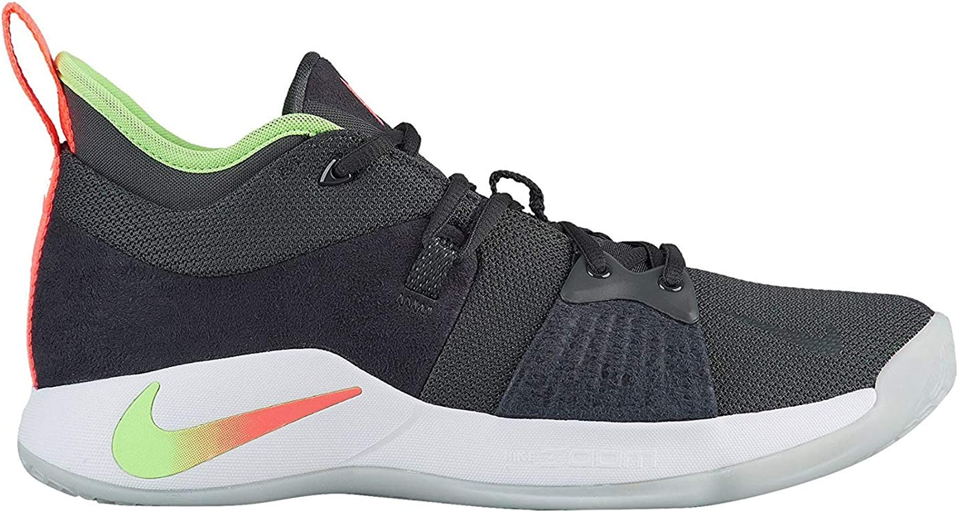 separation shoes 4e05f daf9e Men's PG 2 Basketball Shoes (11.5, Anthracite/Hot Punch)