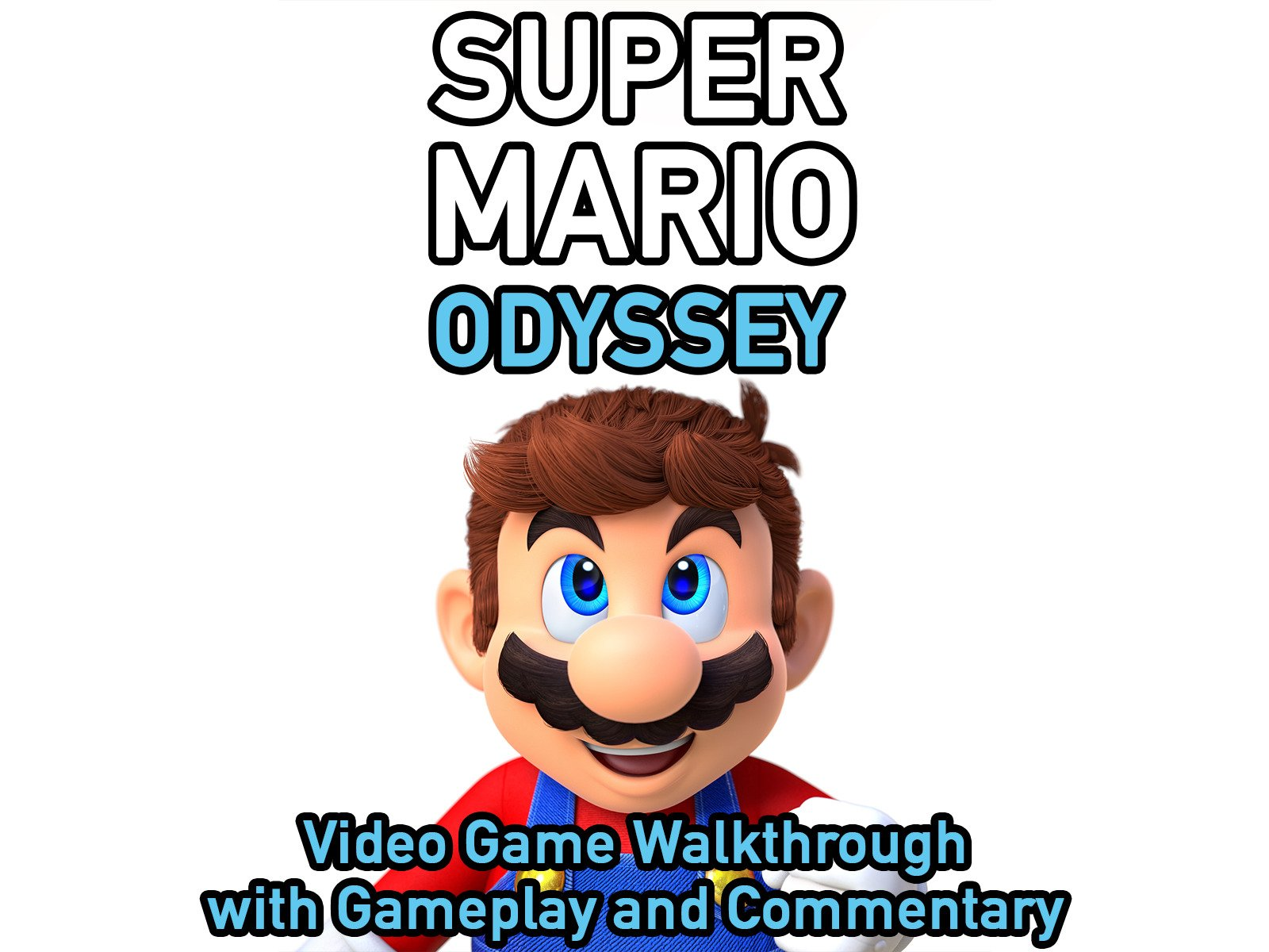 Amazon Com Watch Clip Super Mario Odyssey Video Game