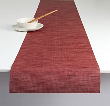 Exceptionnel Chilewich Bamboo Table Runner   Cranberry