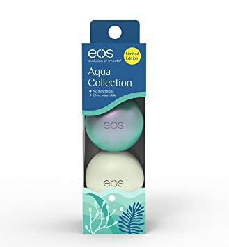 Eos Aqua Collection Lippenpflege Set Deep Sea Ocean Green
