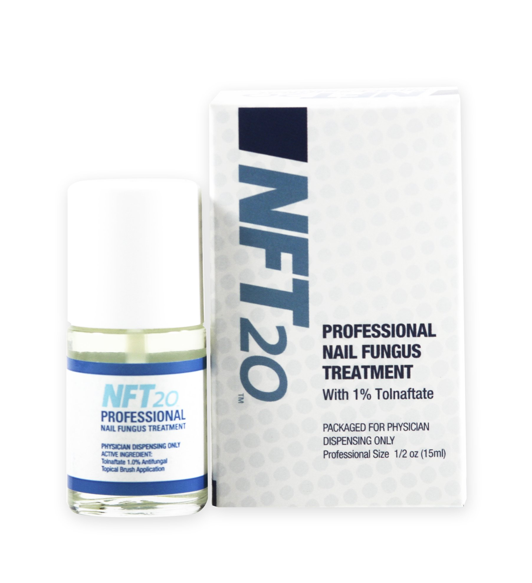 NFT20 Nail Fungus Treatment with Tolnaftate, 0.5 OZ (15 ML) by NFT20
