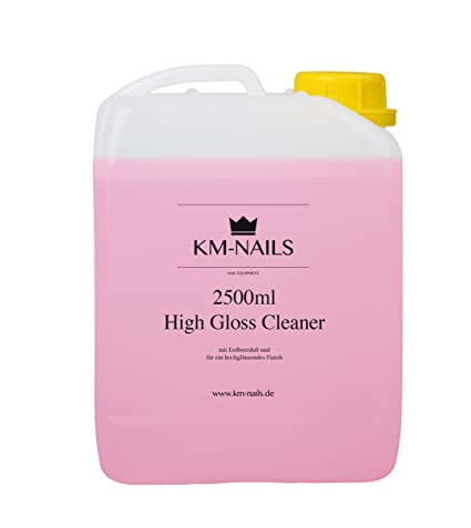 KM de Nails 2500 ml High Gloss Cleaner con aroma Fresa