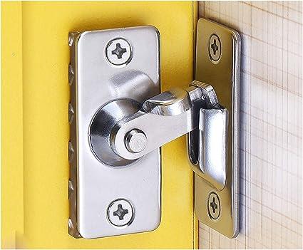 Amazon Com Wanlian 2 Small 90 Flip Door Lock Right Angle Barn Door Lock Sliding Door Lock Special Door Lock Home Improvement
