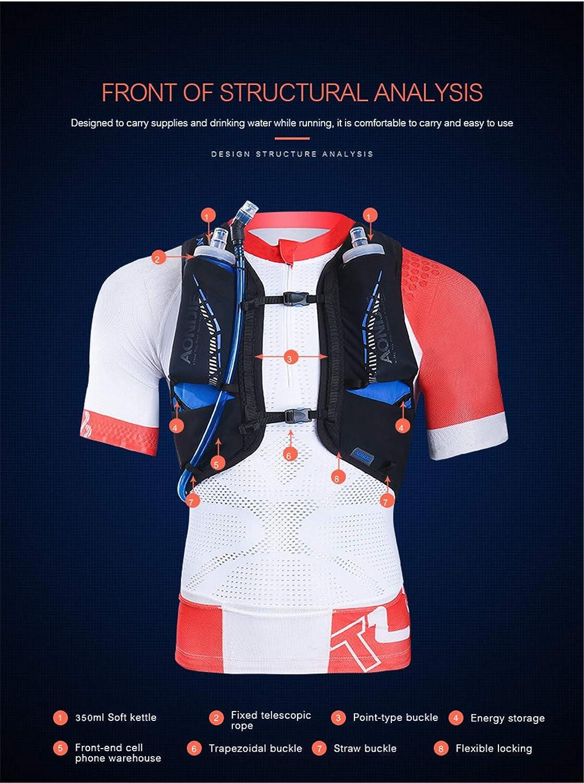 AONIJIE 18L Ligero Mochila de hidrataci/ón Superior Chaleco para Trail Running Ciclismo Marathoner para Hombre Mujer