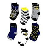 Amazon Price History for:Batman Boys 6 pack Crew Socks (Baby/Toddler/Little Kid)