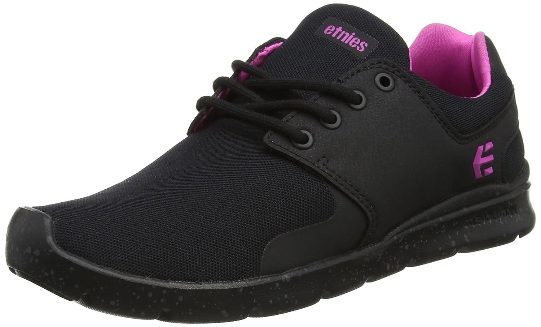 Etnies Womens Scout XT Sneaker B01IE727GA 10 B(M) US|Black/White/Grey