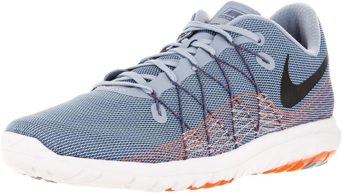 Nike Flex Fury 2 - Zapatillas de running para hombre, color gris, negro y negro: Amazon.es: Zapatos y complementos