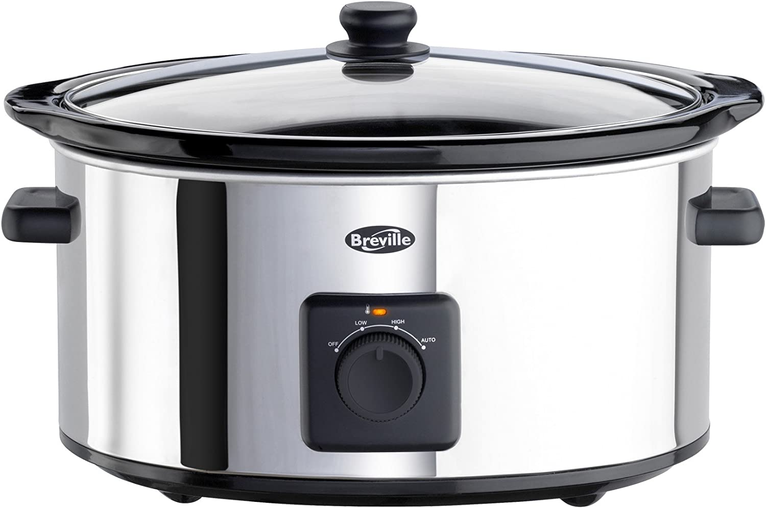 Brand New Slow Cooker 5.5L Bargain Stainless Steel