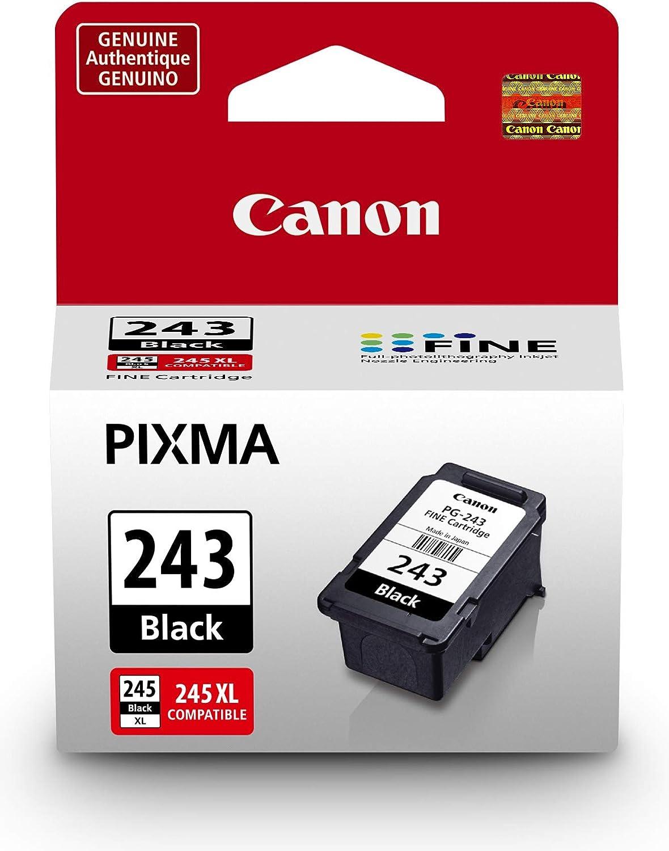 Cartucho Para Canon Pg-243 Black Ink Cartridge