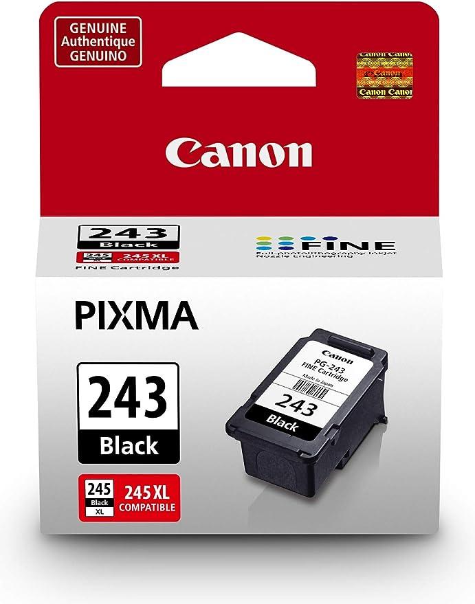 Amazon.com: Canon PG-243cartucho negro compatible con MX492, MG3020, MG2920, MG2924, iP2820, MG2525 y MG2420.