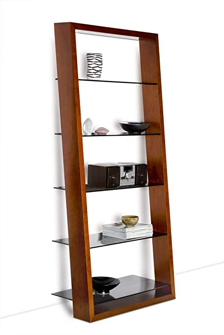 Amazon Com Bdi Furniture Eileen Bookshelf Cherry Home Kitchen