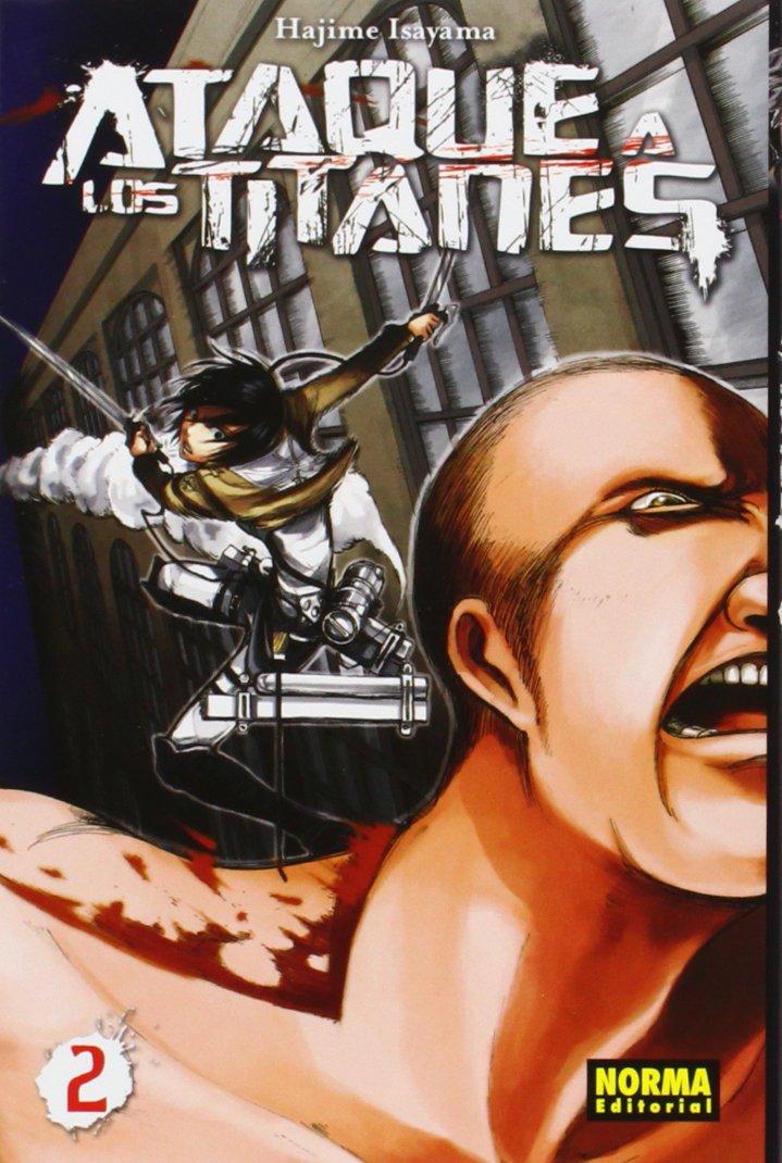 ATAQUE TITANES PACK INICIACION SALON 01+02 CÓMIC MANGA: Amazon.es: Isayama, Hajime: Libros