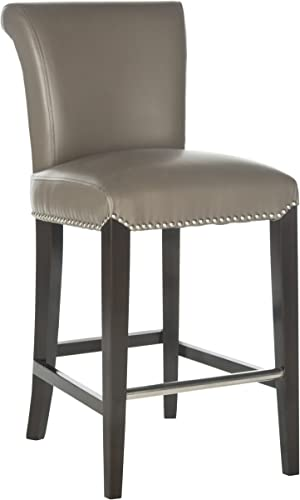 Safavieh Mercer Collection Seth Clay Leather 23.5-inch Counter Stool