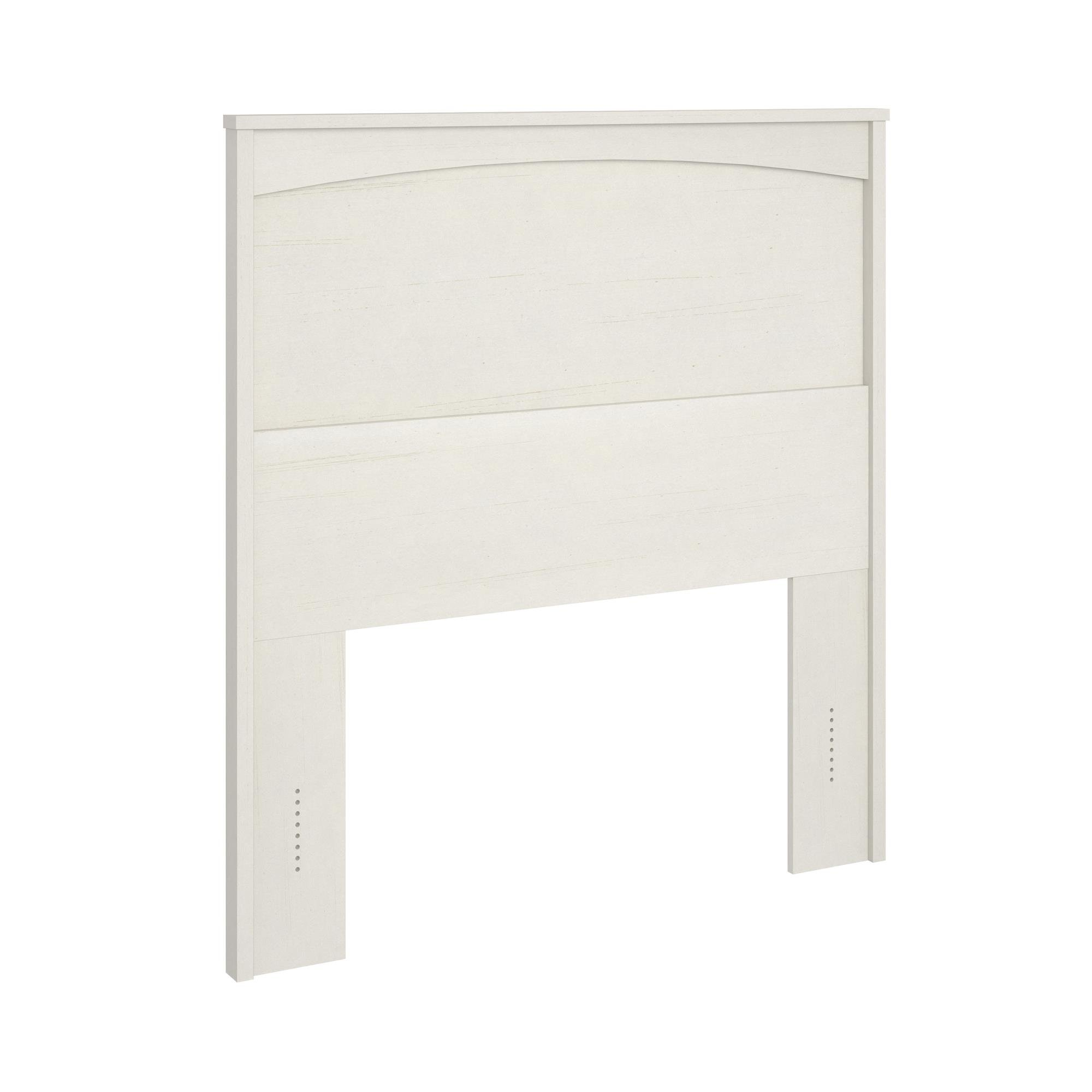 Ameriwood Home Crescent Point Twin Size Headboard, Vintage White