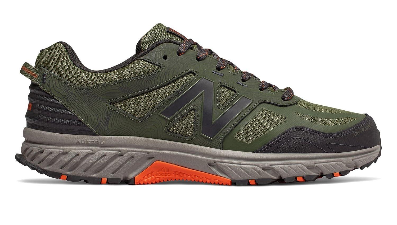 New Balance Men's 510v4 Cushioning Trail Running Shoe B07B6XQX6K 10.5 D(M) US|Dark Covert Green/Phantom/Bengal Tiger