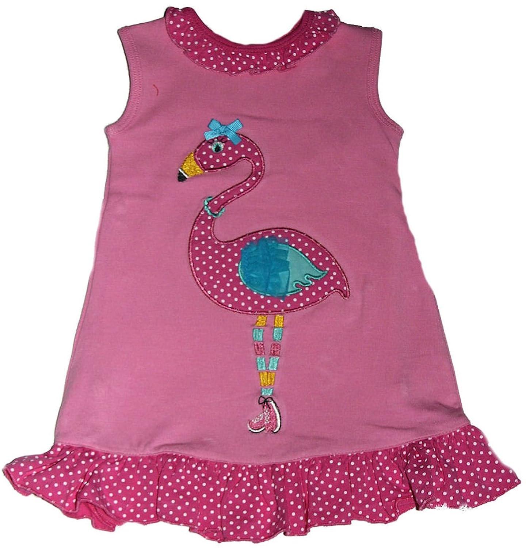 Amazon Maison Chic Baby girls Flamingo esie Dress Clothing