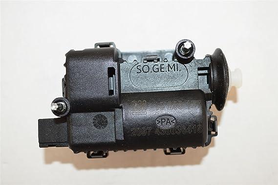 Genuine Vauxhall Corsa Astra Locking Fuel Filler Cap Flap Motor 13208157
