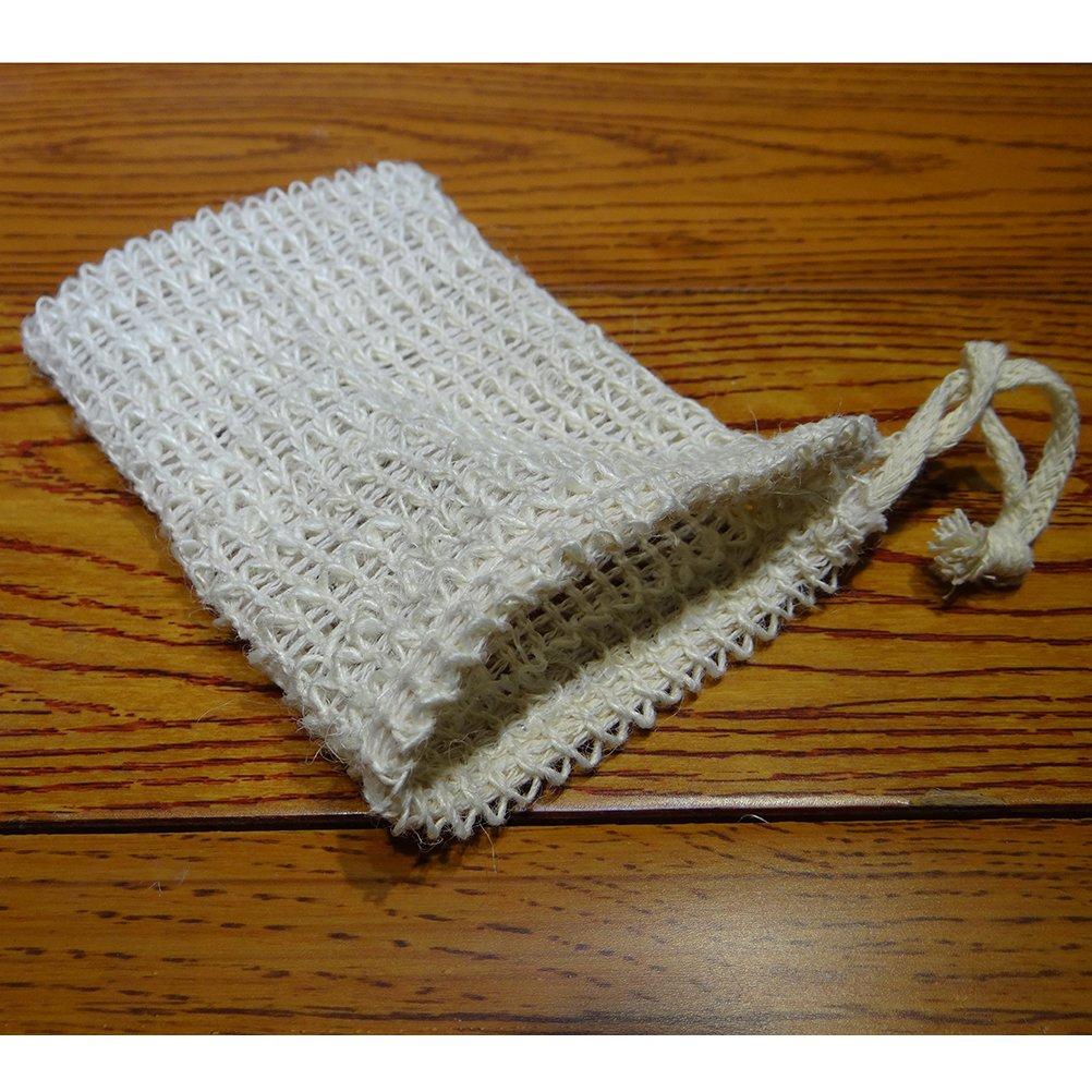 OUNONA 3pcs Soap Saver Bag naturales Saco Soap Net Pouch para ba/ño y ducha utilizar