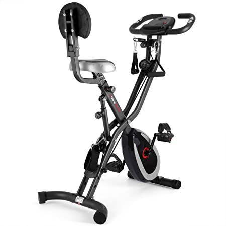 Green with Backrest no bland Bike Home Trainer 200B with Hand Pulse Sensors Foldable