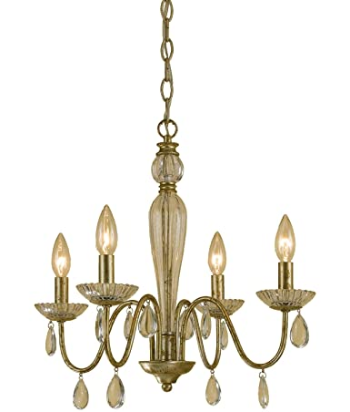 AF Lighting 7004-4H Judy Mini Chandelier