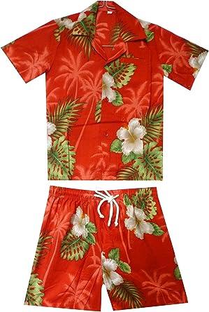 Original King kameha   Funky Hawaii Camisa y pantalones   2 ...