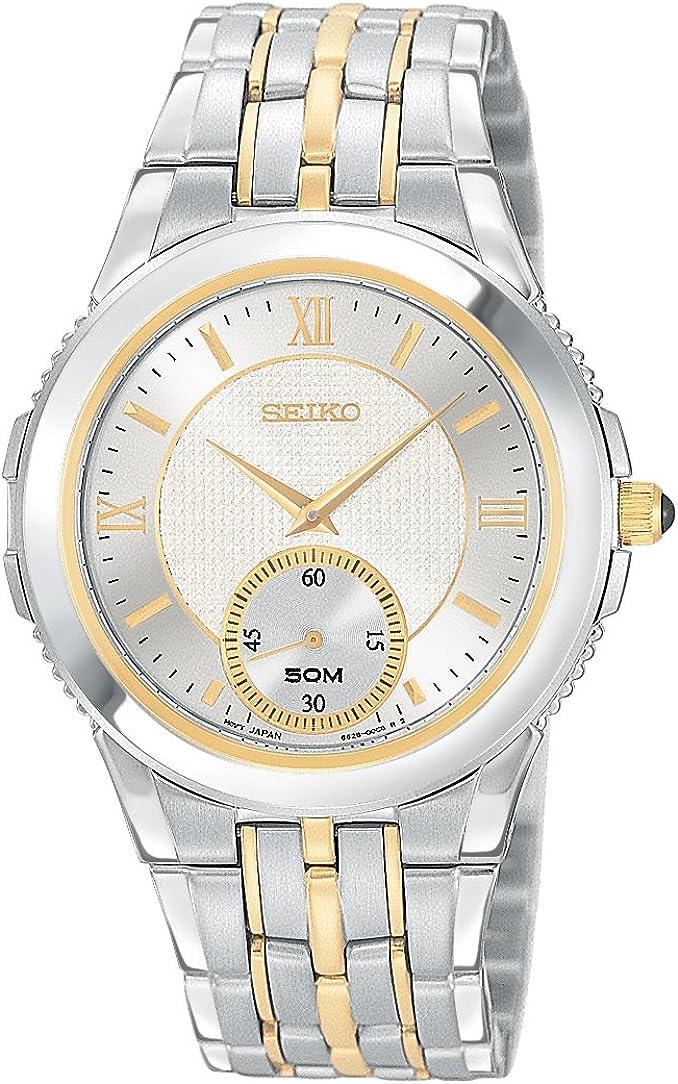 Seiko Men s SRK010 Le Grand Sport Two-Tone Watch