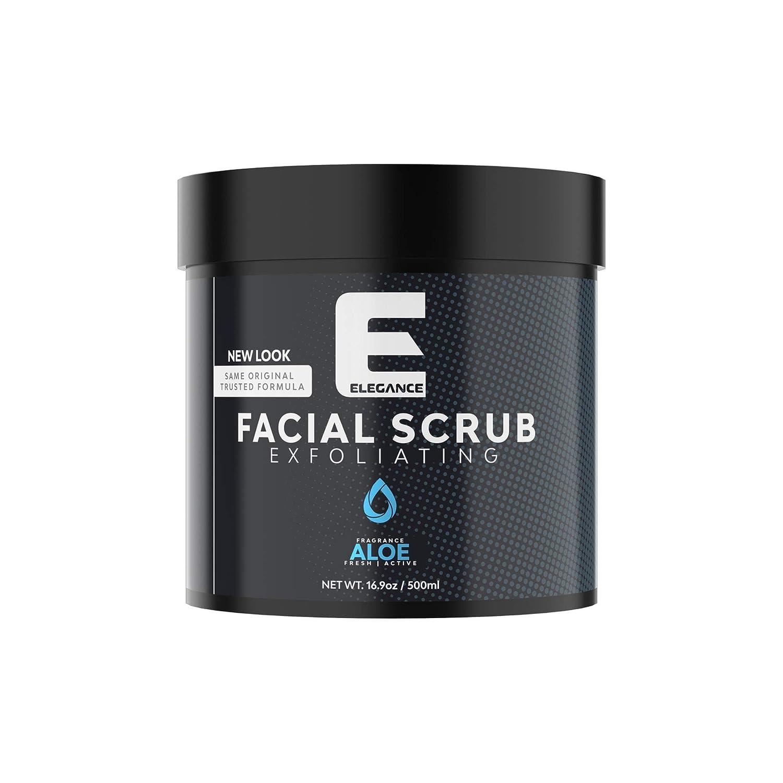ELEGANCE GEL Elegance Facial Scrub, Aloe Vera, 16.9 oz: Premium Beauty