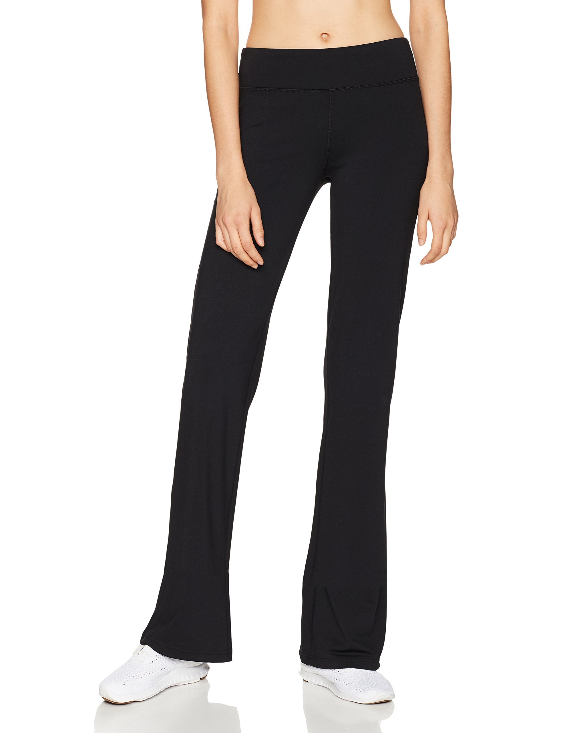 Starter Women's Yoga Pants, Prime Exclusive, Black, Large