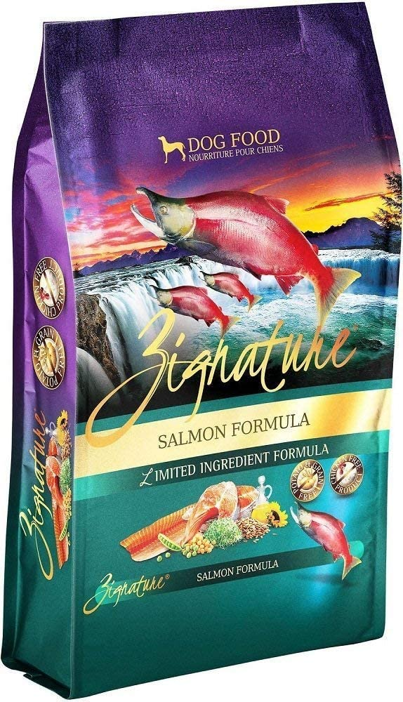 Zignature Salmon Formula Dry Dog Food 27 Pounds Made from Salmon in The Pacific Northwest of The USA. (Fast Delivery) by Just Jak's Pet Market