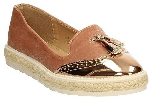 SwankySwans - Mocasines mujer , color rosa, talla 39 EU: Amazon.es: Zapatos y complementos