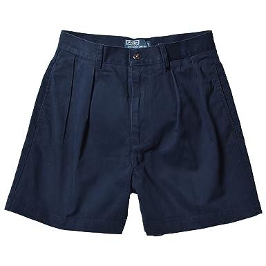 Polo Ralph Lauren Hombre Classic Chino plisada pantalones cortos ...