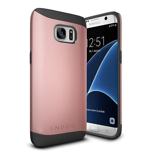 15 opinioni per Cover Galaxy S7 Edge, Snugg Samsung Galaxy S7 Edge Custodia Case [Scudo Sottile]