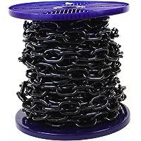 Solide chaine japonaise en acier JBP plaquée noire Bobine entière et coupes à la demande disponibles