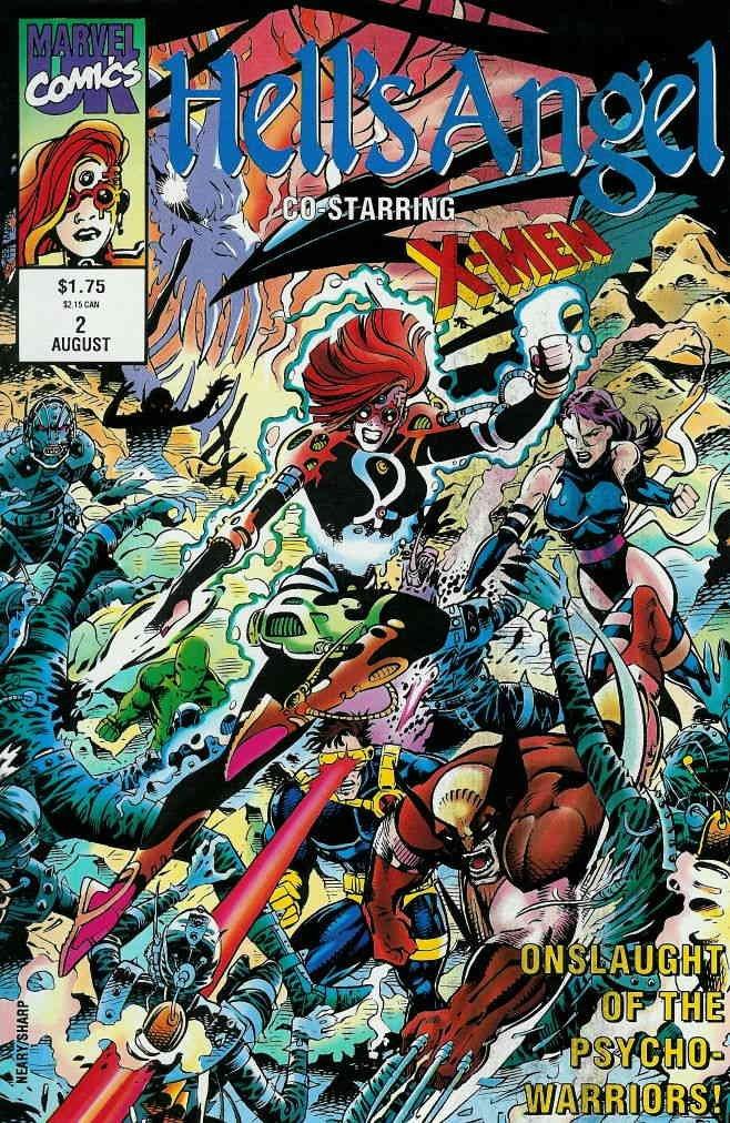 Hell's Angel #2 VF/NM ; Marvel UK comic book
