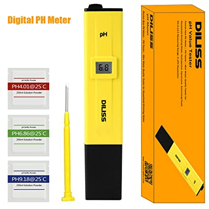 Awesome DILISS Digital PH Meter/PH Tester/Mini Water Quality Tester For Household  Drinking Water