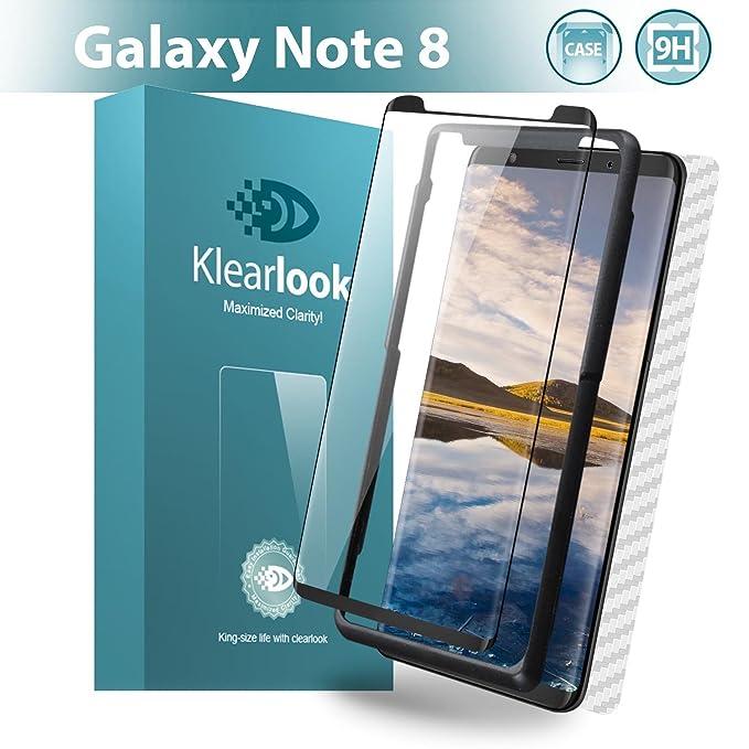 1 opinioni per Klearlook case-friendly trasparente lo schermo in vetro temperato per Samsung