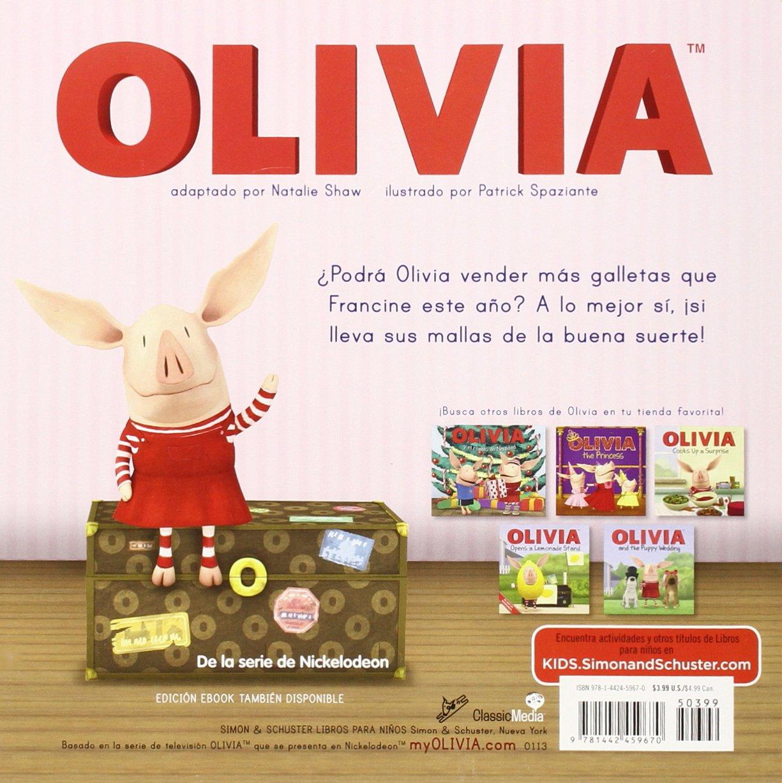 OLIVIA vende galletas (OLIVIA Sells Cookies) (Olivia TV Tie-in) (Spanish Edition): Natalie Shaw, Patrick Spaziante, Alexis Romay: 9781442459670: Amazon.com: ...