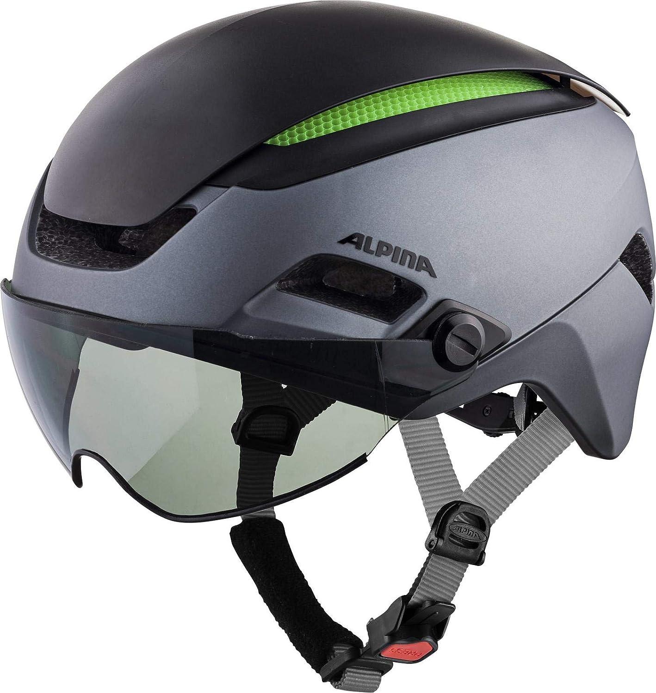 アルピナ ALTONA VM チャコール/アンスラサイト ヘルメット 57-62cm(A9727330)   B07KB4LLF7