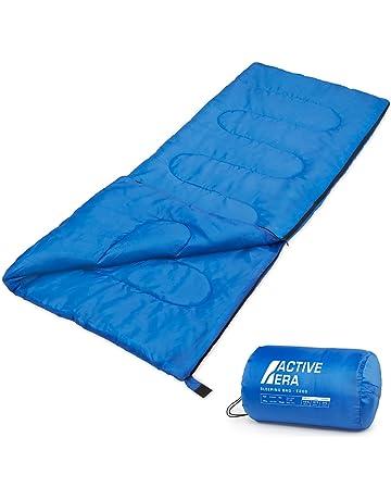 Active Era Saco de Dormir Premium 200, de Forma Rectangular, Extremadamente Ligero